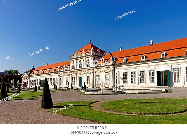 Castle, Belvedere, lower Belvedere