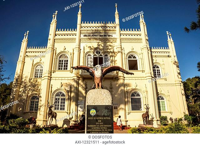 Natural History Museum building in Neo Manueline style; Maputo, Mozambique