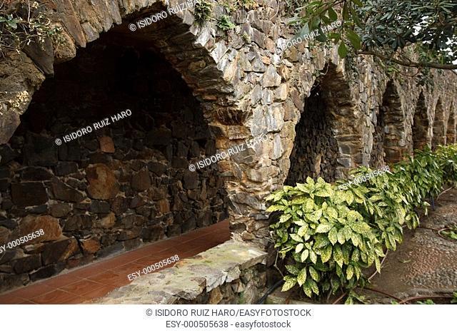 Jardí dels Enamorats  Jardín Botánico de Cap Roig  Calella de Palafrugell Costa Brava  Girona  Catalunya