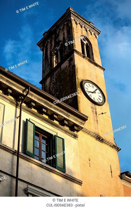 Clock tower, Pietrasanta, Tuscany, Italy