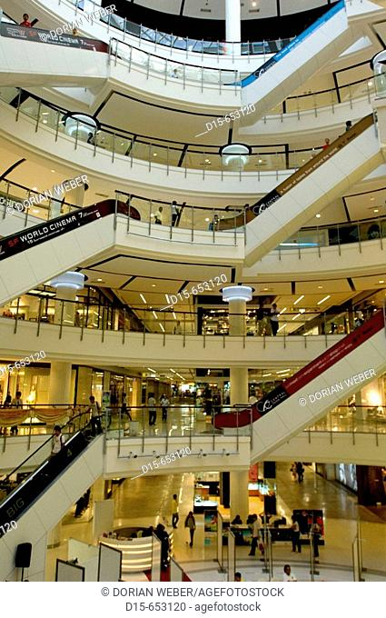 Inside Central World Shopping Plaza, Bangkok. Thailand