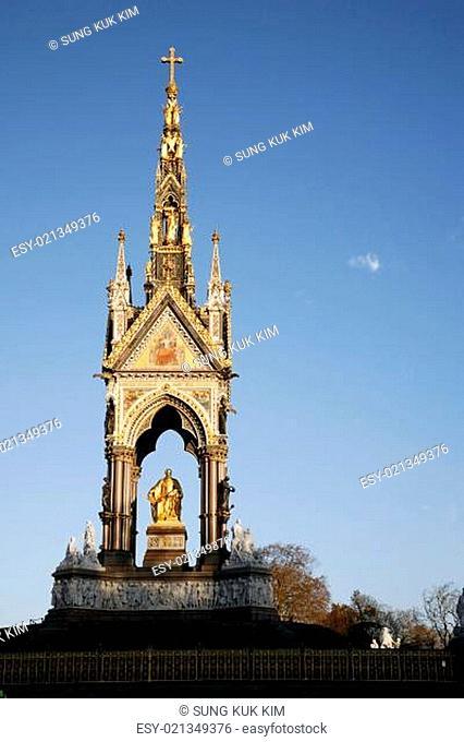 The Albert memorial in Hyde park