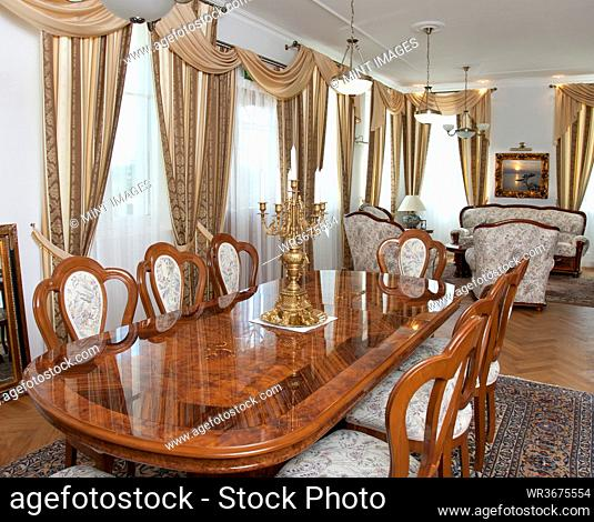 Dining Area in Upscale Home