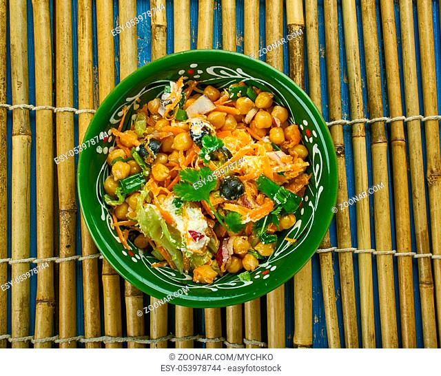 Moroccan Carrot and Chickpea Salad Is Everything
