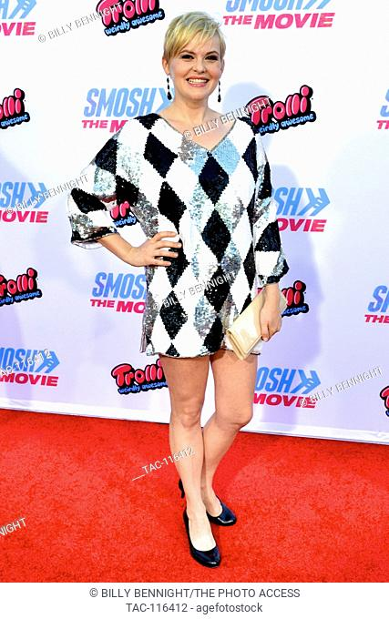 Kimmy Gatewood attended the Premiere of Smosh: The Movie at the FOX Westwood Village Theater