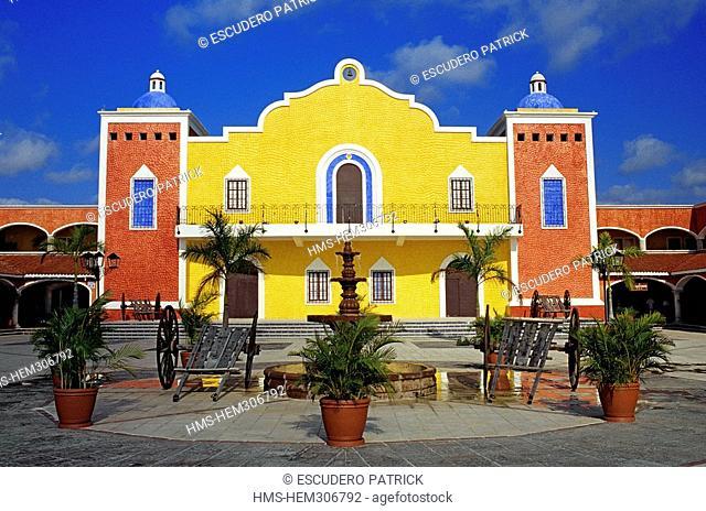 Mexico, Quintana Roo State, Akumal, Gran Bahia Principe Hotel, Dona Isabel Hacienda