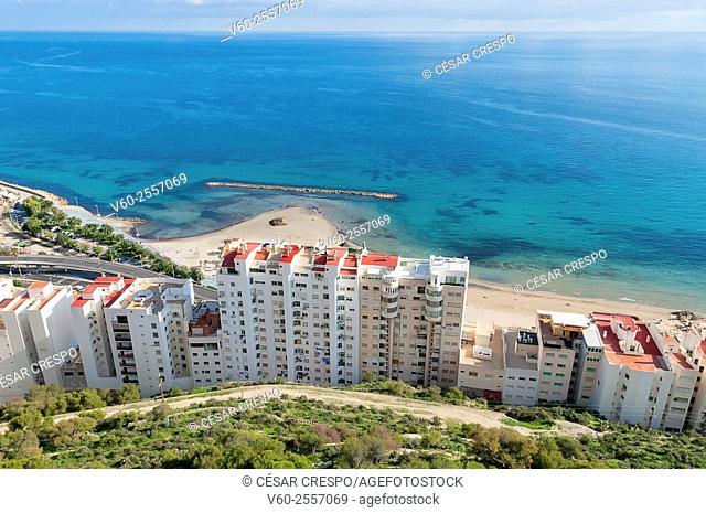 Castle Area, Alicante, Spain