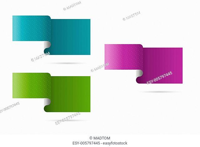 ribbon effect template