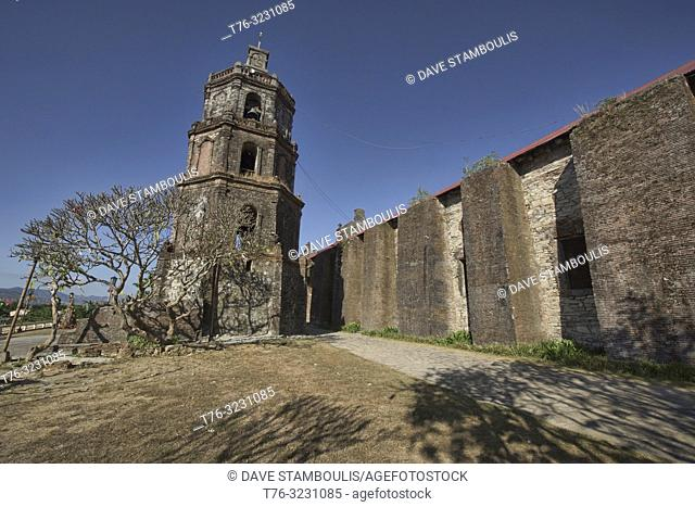 The UNESCO World Heritage Santa Maria Church, Ilocos Sur, Philippines