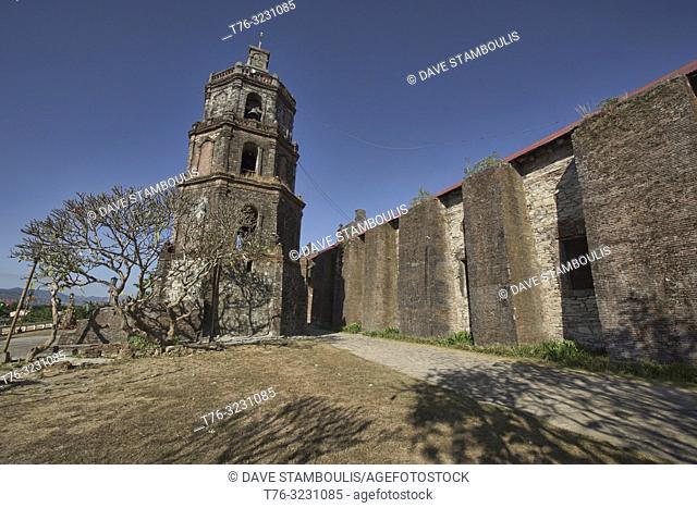 The UNESCO World Heritage Santa Maria Church, Ilocos Sur, Philippines