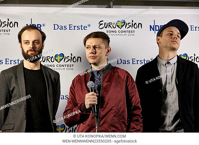 Eurovision Song Contest 2016 - Unser Lied für Stockholm at Brainpool studios Featuring: Christian Friedel Where: Cologne