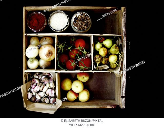 Picture about fruits and vegetables