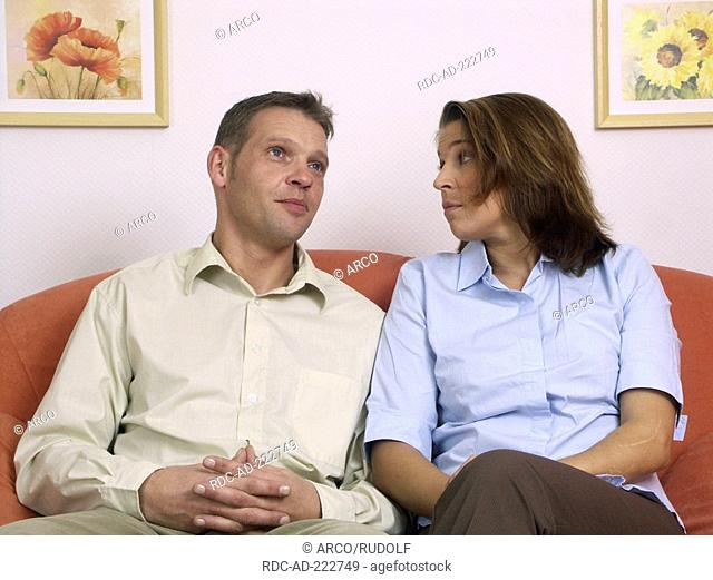 Couple does not talk to one another