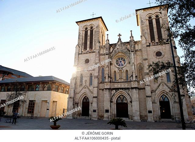 Cathedral of San Fernando in San Antonio, Texas, USA