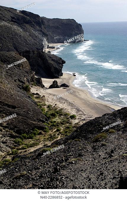 Cala Grande and cala Chica, Cabo de Gata, Almería