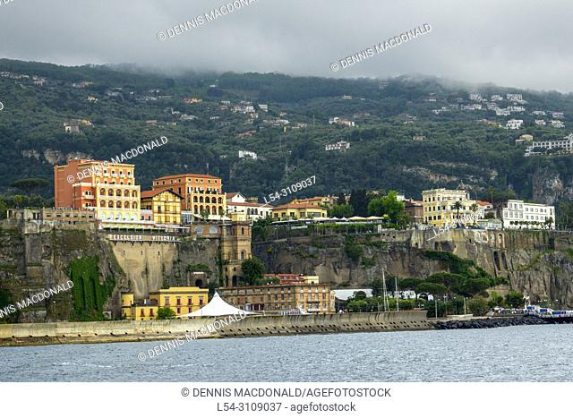 Sorrento is a coastal town in southwestern Italy, facing the Bay of Naples on the Sorrentine Peninsula. Perched atop cliffs that separate the town from its busy...