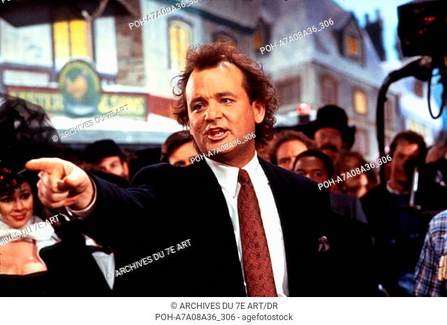 Fantomes en fete Scrooged  Year: 1988 -  Bill Murray  Director: Richard Donner. WARNING: It is forbidden to reproduce the photograph out of context of the...