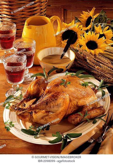 Roast turkey, USA