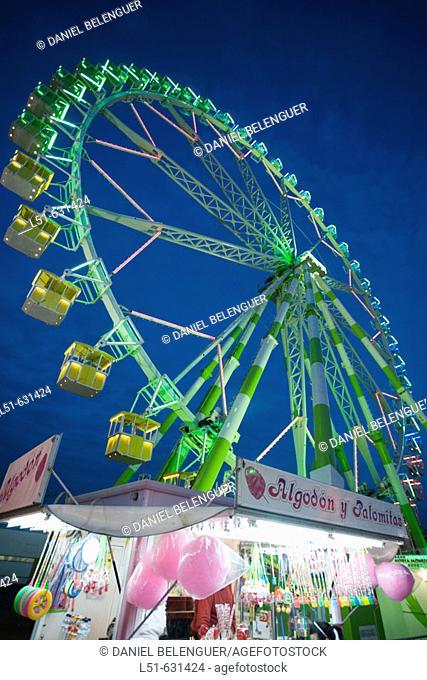 Ferris wheel. Valencia, Comunidad Valenciana, Spain