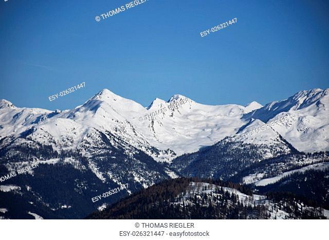 lienz dolomites, zettersfeld, ski, slopes, evening, faschingalm, east tyrol, lienz