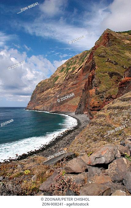 The sea cliff's at Achadas da Cruz