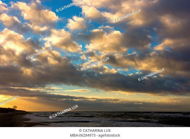 Baltic Sea, Darss, Winter