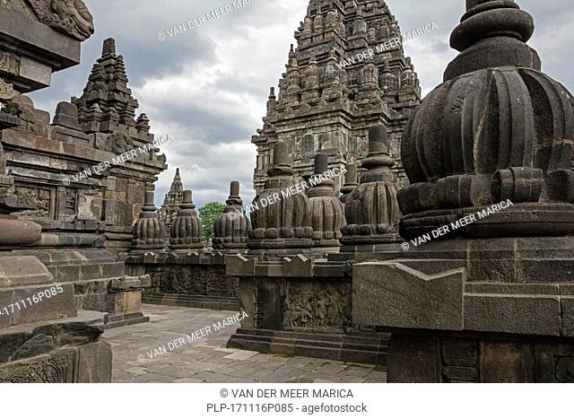 Prambanan / Rara Jonggrang, 9th-century Hindu temple compound in Central Java and largest Hindu temple site in Indonesia
