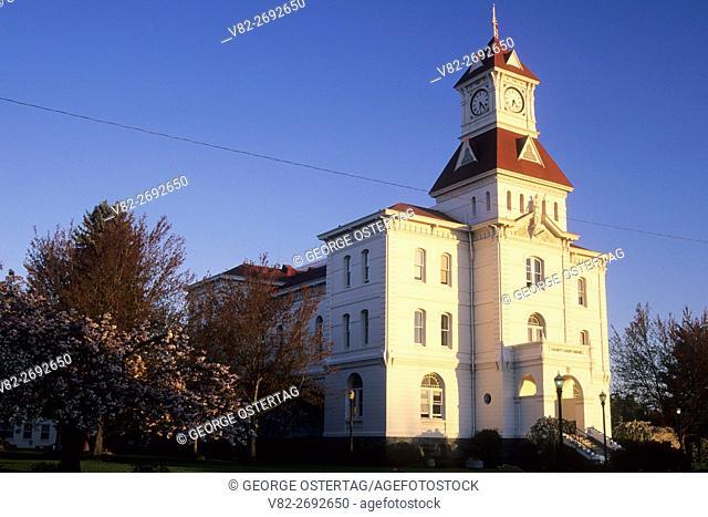 Benton County Courthouse, Corvallis, Oregon