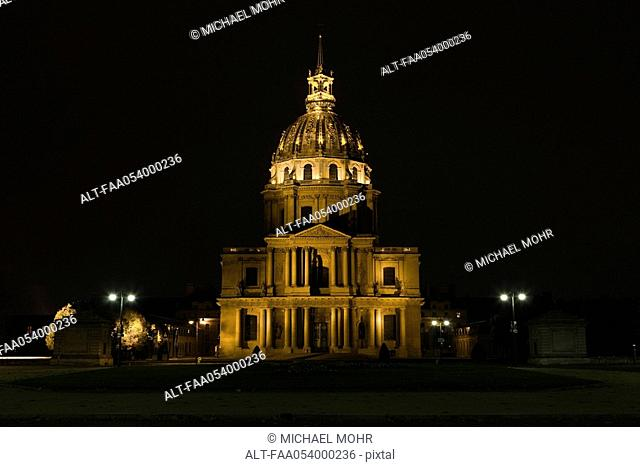 France, Paris, Invalides