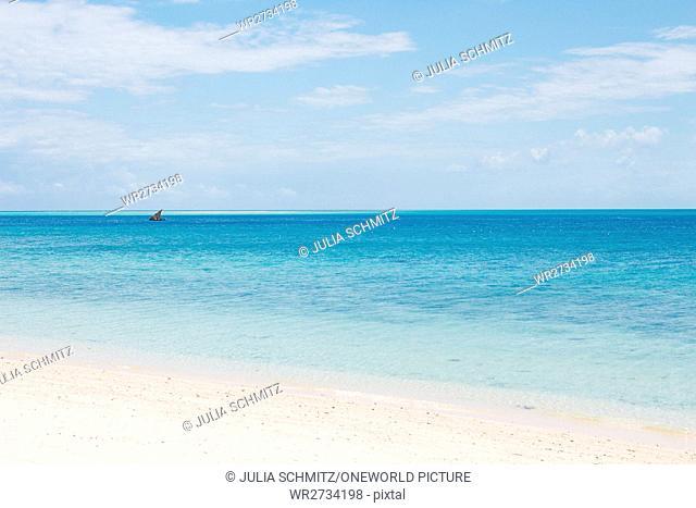 Tanzania, Zanzibar, Pemba Island, beach of Misali Island