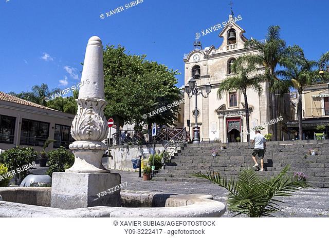 Church San Giovanni Battista, Aci Trezza, Aci Castello, Catania, Sicily, Italy