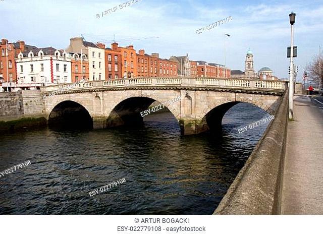 Mellows Bridge in Dublin