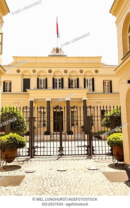 Dutch Embassy, Palais de Hollande, Istiklal Caddesi, Beyoglu, Istanbul, Turkey