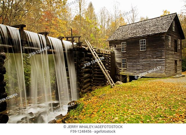 Mingus Mill, Great Smoky Mtns National Park, NC