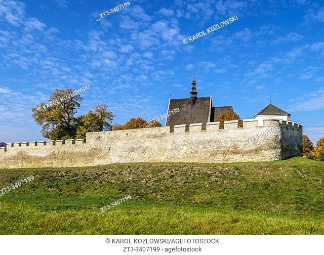 Old Town Walls, Szydlow, Swietokrzyskie Voivodeship, Poland