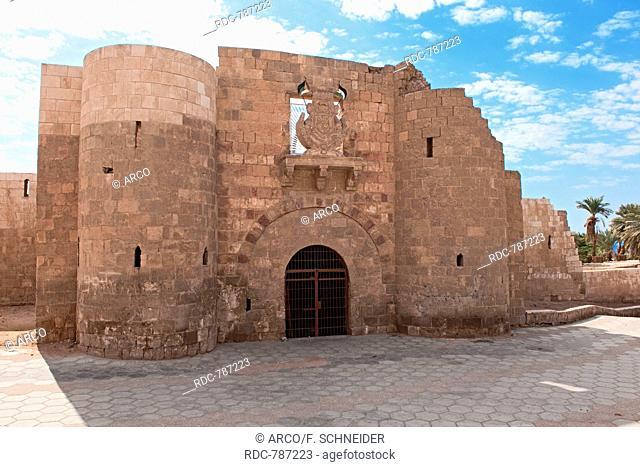 Aqaba Castle, Mamluk Castle, Fort, Aqaba, Jordan, Minor Asia / Akaba