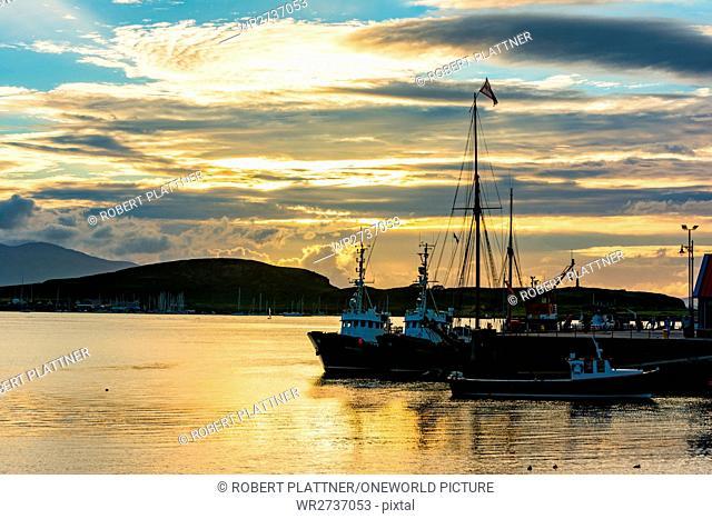 United Kingdom, Scotland, Argyll and Bute, Oban, Port of Oban