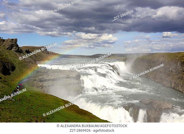 Gullfoss Gorge, The Golden Circle, Soutwest Iceland