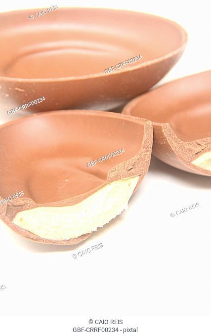 Chocolate easter egg, São Paulo, Brazil
