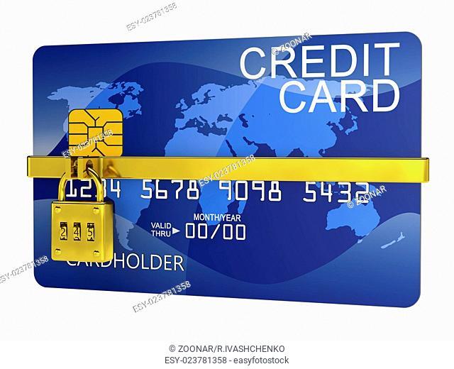 lock credit card