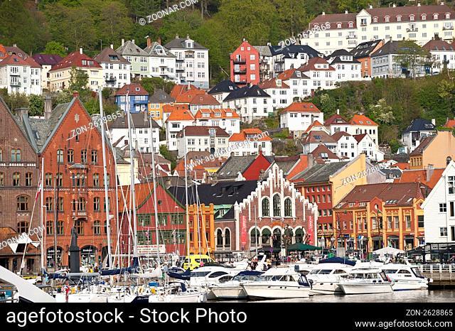 Bergen, Hordaland, Norwegen, Skandinavien, Nordeuropa / Bergen, Hordaland, Norway, Scandinavia