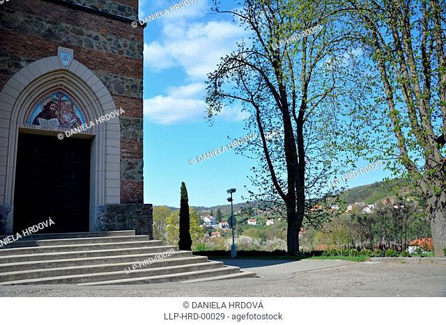 Bilovice nad Svitavou, church CZ