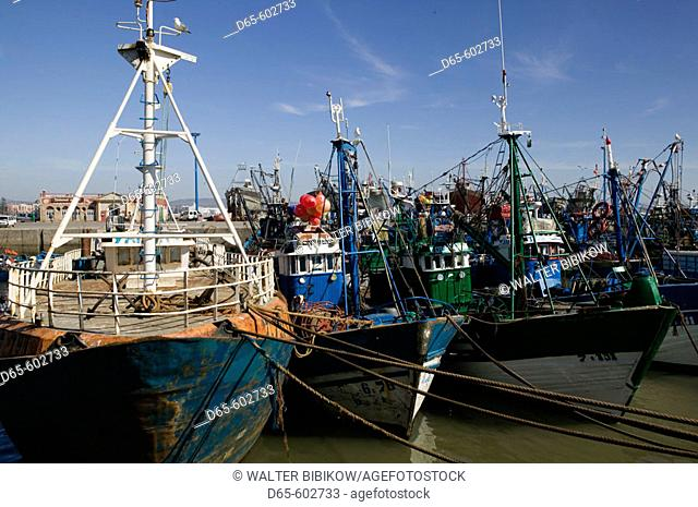 Morocco. Atlantic Coast. Essaouira. Fishing Port