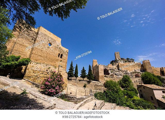 La Iruela Castle, almohade origin, Guadalquivir Valley, Parque Natural Sierras de Cazorla, Segura y Las Villas, Natural Park, Jaen, Andalucia, Spain
