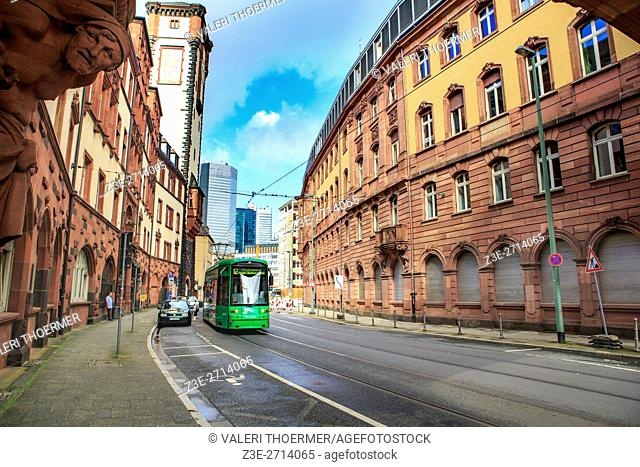 FRANKFURT ON THE MAIN, GERMANY: The City of Frankfurt on the Main, Germany