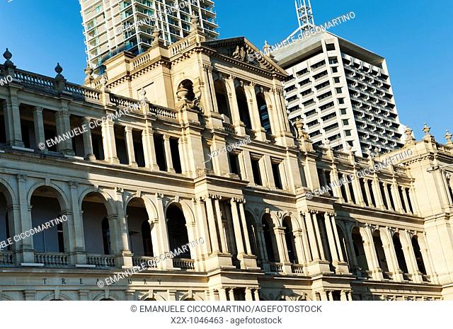 Treasury Building, Brisbane, Queensland, Australia