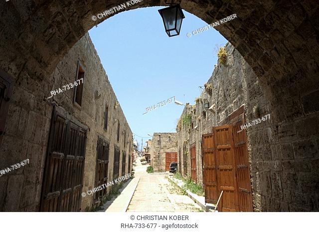 Souq area, Byblos, Lebanon, Middle East