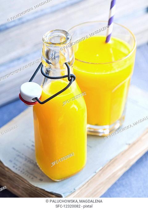 Freshly squeezed oange juice