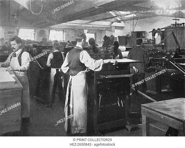 'In the Machine Room', 1916. Artist: Unknown