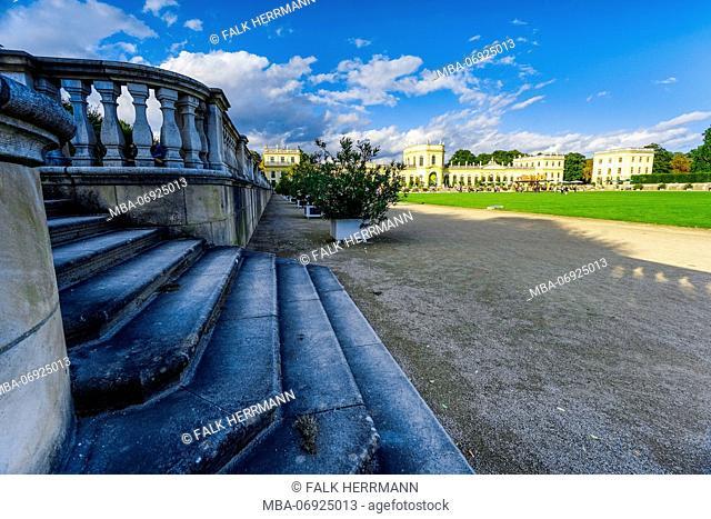 Germany, Hesse, Kassel, Orangerie, castle ground